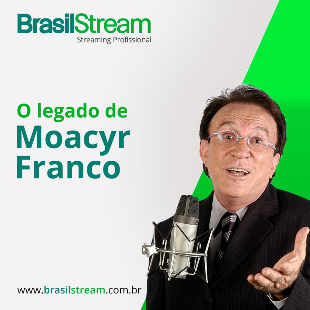Legado de Moacyr Franco: na rádio, na tv e como cantor.