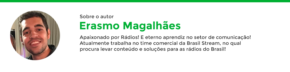 Autor Erasmo Magalhães da BrasilStream