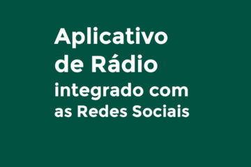 app de rádio integrado