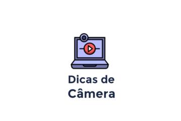 Câmera no Estúdio