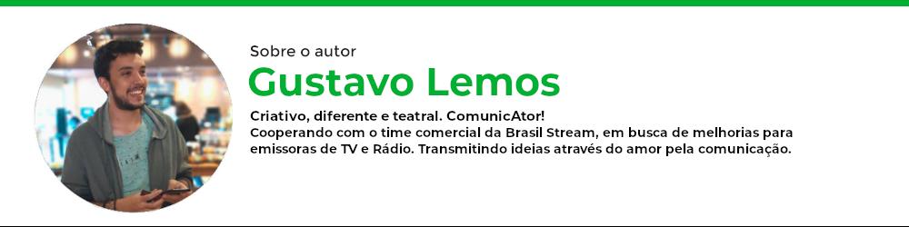 Autor Gustavo Lemos sobre depoimento da Rádio Top